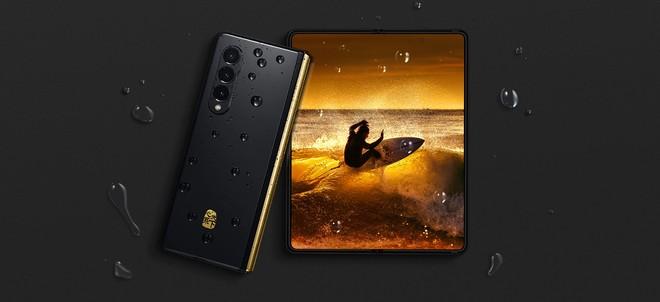 Samsung W22 5G ufficiale: versione lussuosa di Galaxy Z Fold 3 - image  on https://www.zxbyte.com