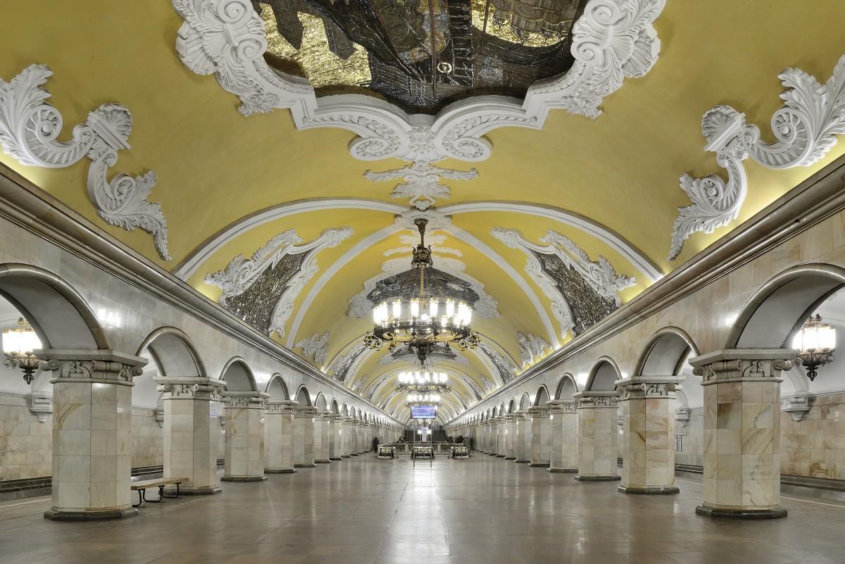 A Mosca la metro si paga con il riconosc …