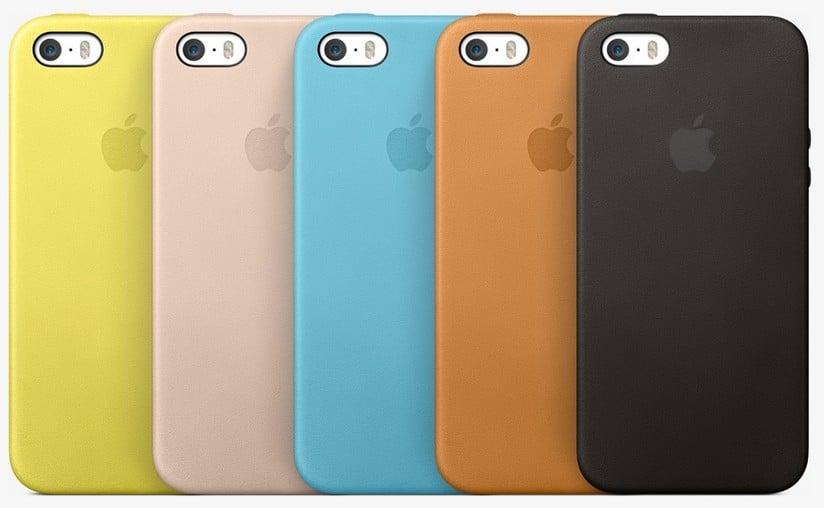 custodia in pelle per iphone 5