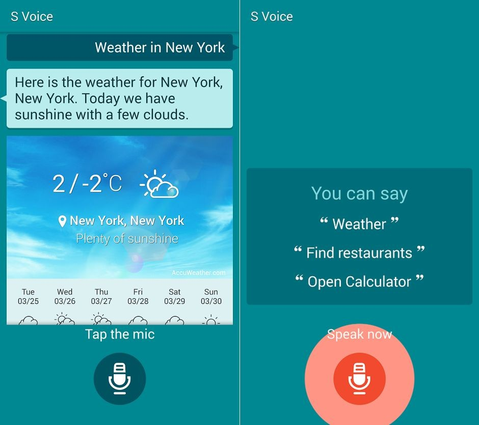 Galaxy S5: disponibili al Download Sfondi, Suoni di sistema e l'APK del nuovo S Voice | Update