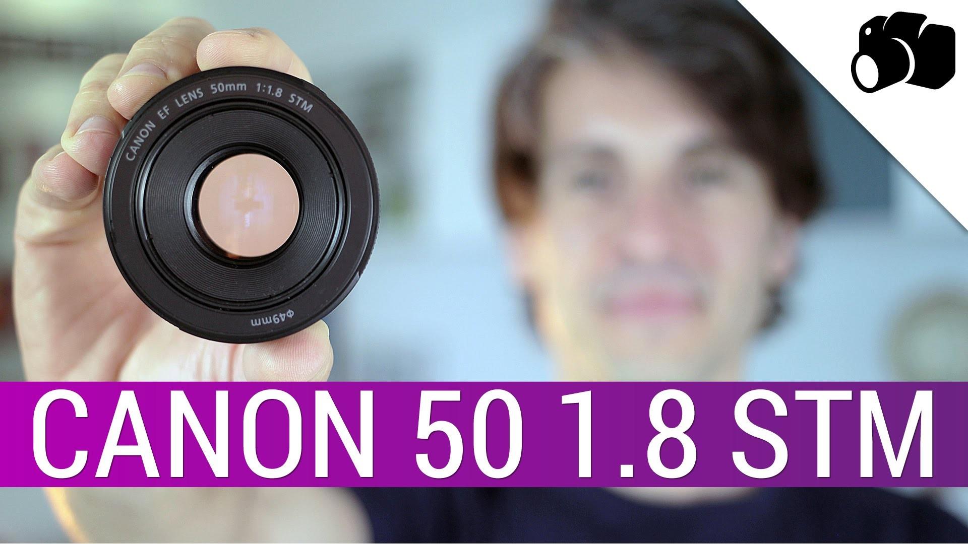 Lente EF 50 mm f//1.8 STM