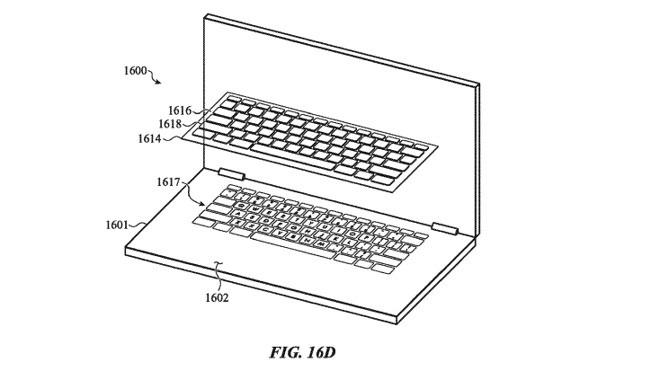 Apple brevetta diverse tastiere destinate ai MacBook del