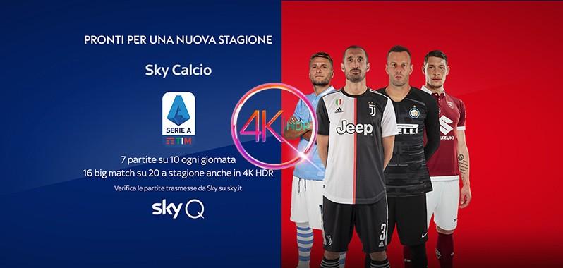 Sky Un Incontro Di Serie A E Di Premier League In 4k Hdr Per Ogni Giornata Hdblog It