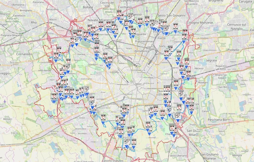 Cartina Della Fascia Verde A Roma.Area B Milano Guida Completa Mappa Chi Puo Circolare Ottobre Stop Diesel Euro 4 Hdmotori It