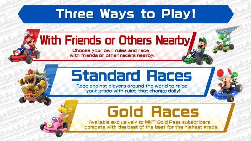 Mario Kart Tour: il multiplayer locale e online è disponibile ...