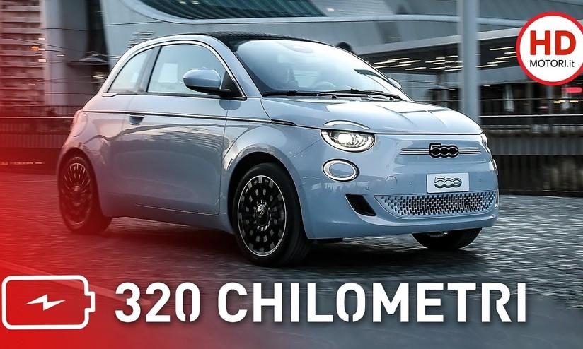 Fiat 500e Prezzo E Autonomia Dell Elettrica Cittadina Hdmotori It