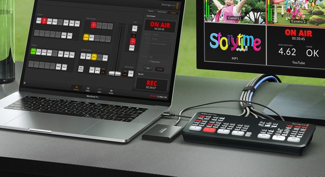 Blackmagic Design ATEM Mini Pro: switcher per lo streaming live - image  on https://www.zxbyte.com