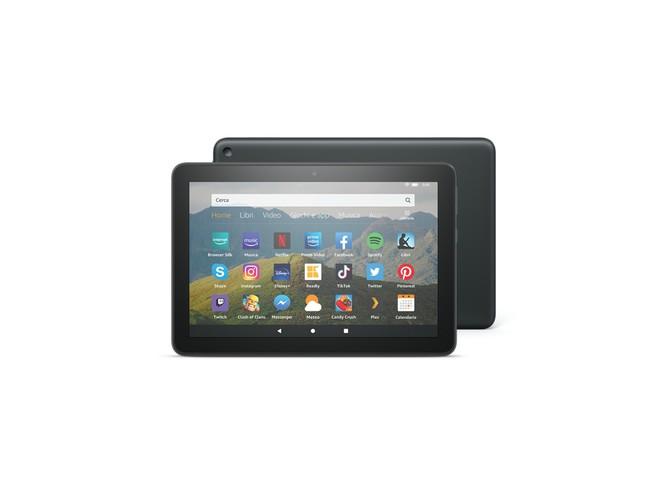 Amazon Fire HD 8 2020 ufficiale: più velocità, memoria e autonomia. PREZZI - image  on https://www.zxbyte.com