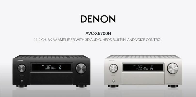 Denon presenta AVC-X6700H: amplificatore home cinema con HDMI 2.1 ...