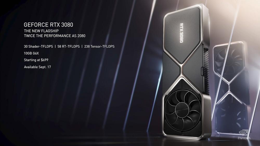 NVIDIA GeForce RTX 3090, 3080 e 3070 ufficiali, caratteristiche e prezzi  ITA - HDblog.it
