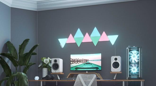 Nanoleaf Triangles e Mini Triangles, arrivano nuove luci smart modulari - image  on https://www.zxbyte.com