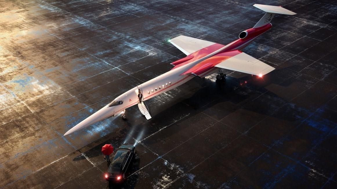 L'aereo supersonico AS2 arriverà nel 2026: a fine anno la nuova sede in Florida