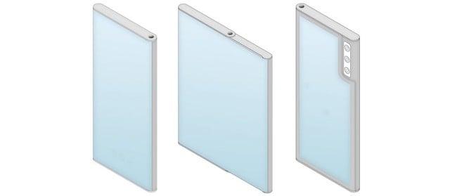 LG Rollable in un brevetto: ha un secondo display oltre quello arrotolabile - image  on https://www.zxbyte.com