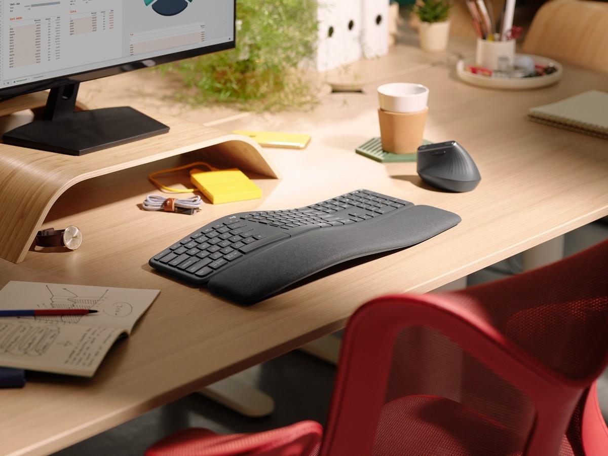 Logitech ERGO: nuova tastiera e mouse pe …
