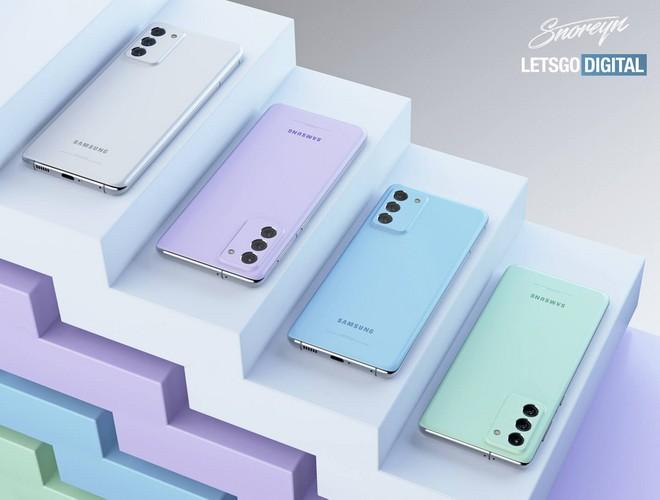 Samsung Galaxy S21 FE, colori tenui e fotocamera abbinata: vi piacerebbe così? - image  on https://www.zxbyte.com