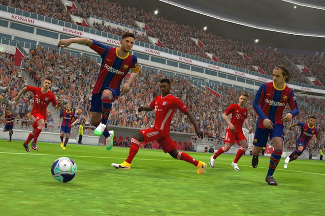 eFootball PES 2021 Mobile: 400 milioni di download, al via la MessiChallenge - image  on https://www.zxbyte.com