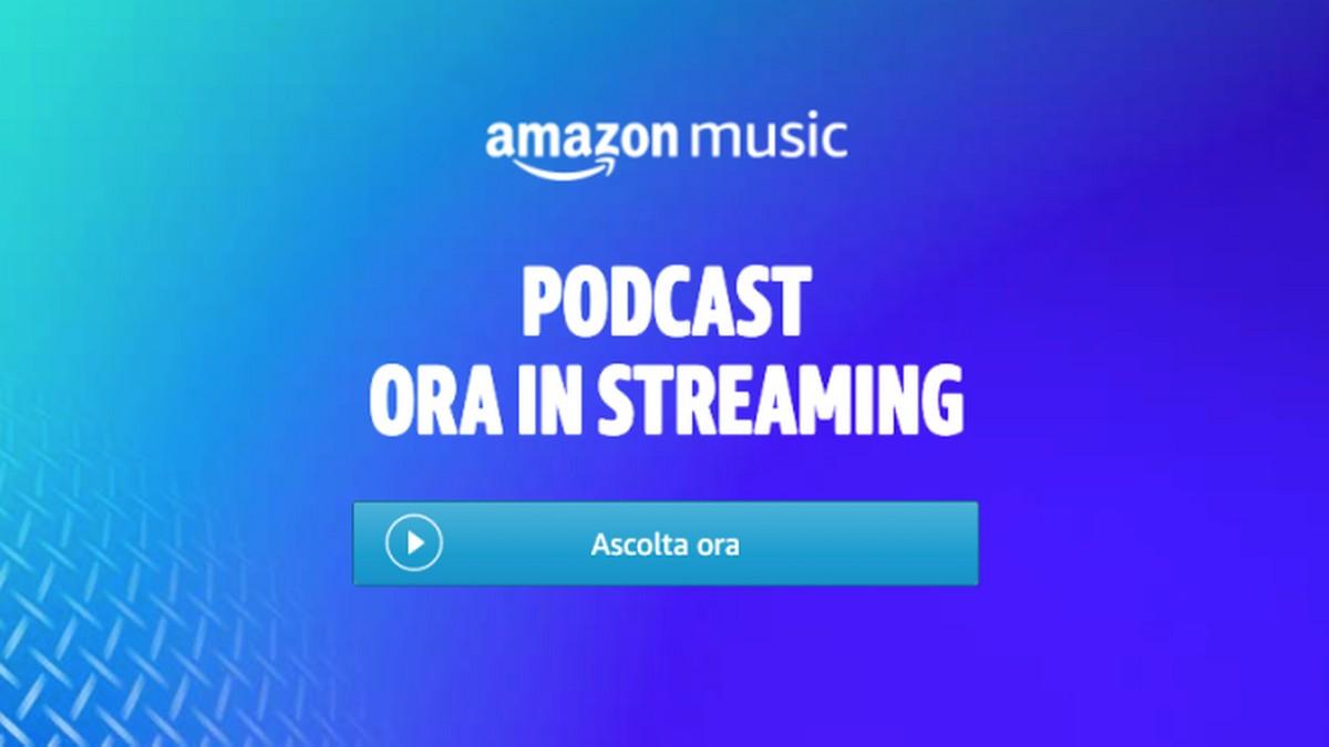 Amazon Music porta i Podcast anche in It …