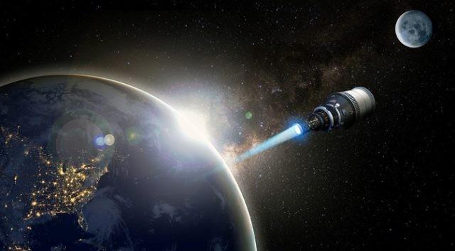 DARPA vuole la propulsione nucleare, Blu …