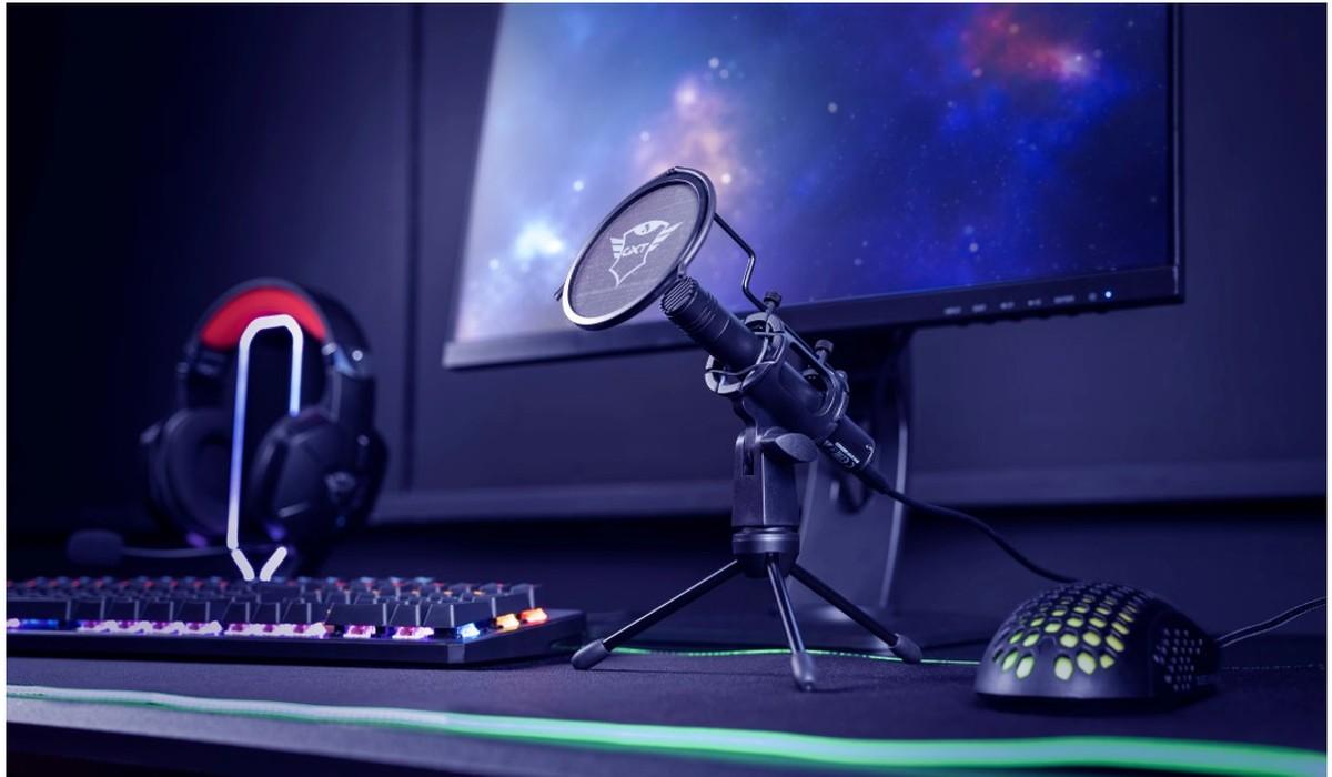 Trust presenta il nuovo microfono GXT 24 …