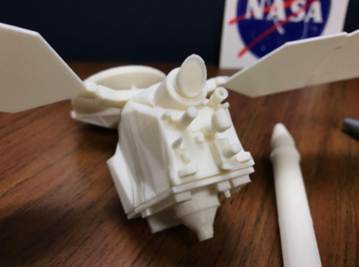 NASA, ecco i modelli per stampare in 3D  …