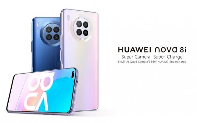 Huawei Nova 8i resmi: tidak ada Google selain Snapdragon 662, quad-cam, dan pengisian daya 66W