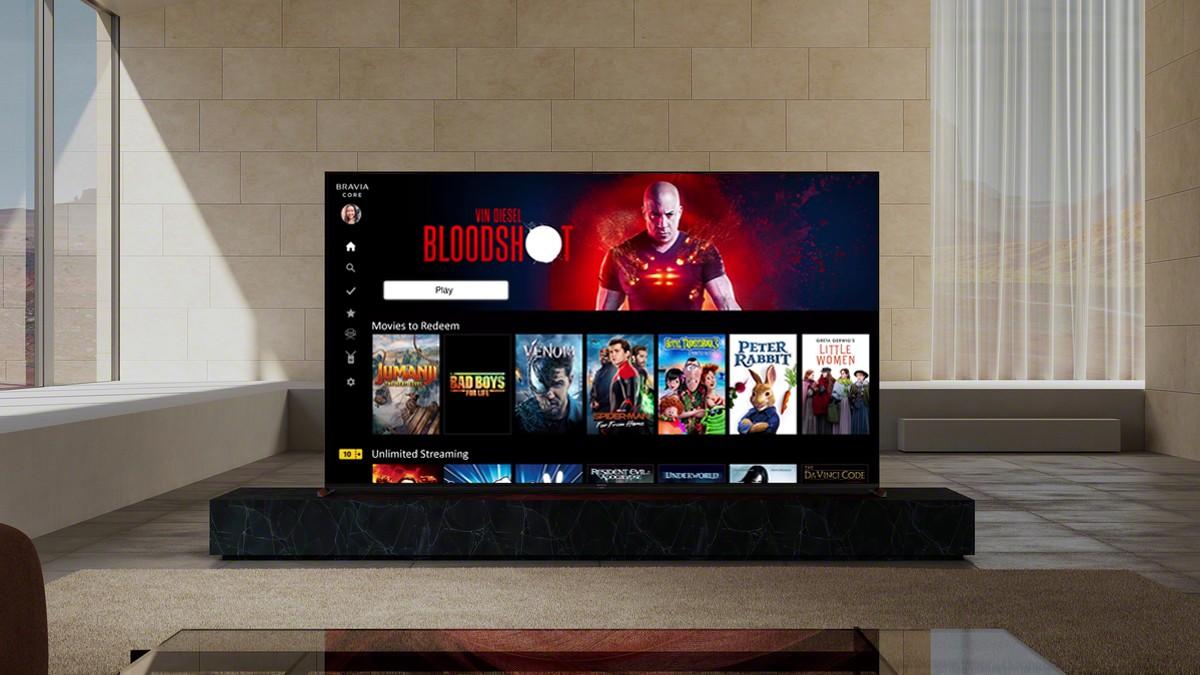 I Google TV Sony X95J da 65″ con p …