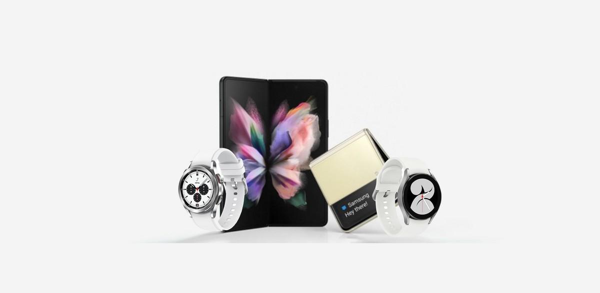 Galaxy Z Fold3, Z Flip3, Watch 4 e Buds2 …
